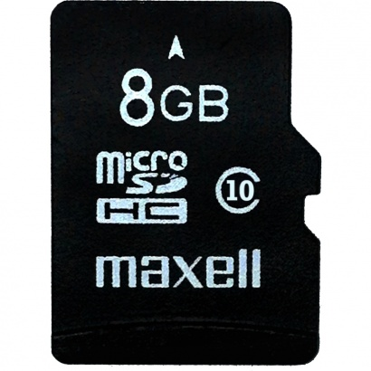 Maxell MicroSDHC 8GB CL10 + adaptér