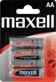 Maxell R6 4BP Zinc 4x AA