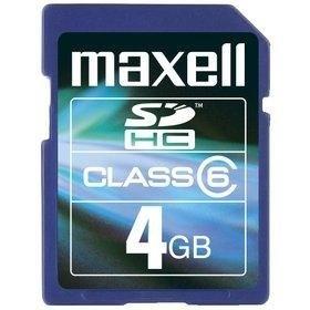 Maxell SDHC 4GB CLASS 6