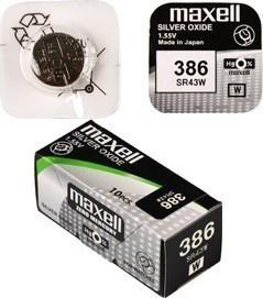 Maxell SR 43W / 386 HD Watch BAT.