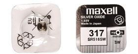 Maxell SR 516SW / 317 LD Watch
