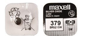 Maxell SR 521SW / 379 LD Watch