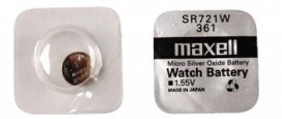 Maxell SR 721W / 361 HD Watch