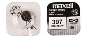 Maxell SR 726SW / 397 LD Watch