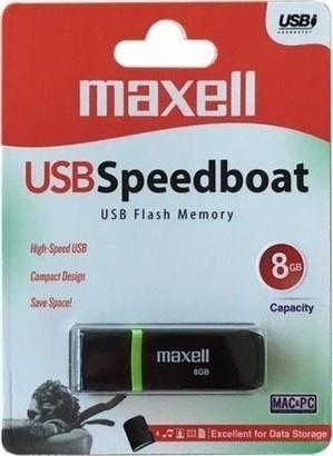 Maxell USB FD 8GB 2.0 Speedboat black