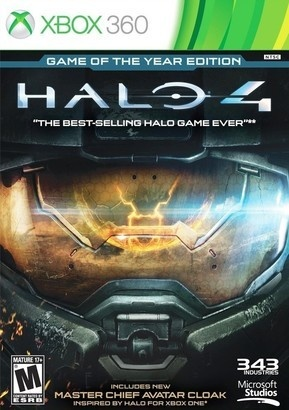 Microsoft Halo 4: Game of the Year Edition X360