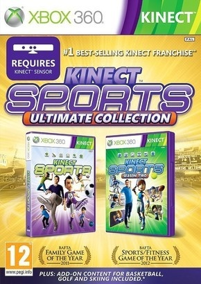 Microsoft Kinect sports ultimate XBox 360