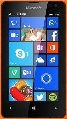 Microsoft Lumia 435 DS Bright Orange