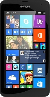 Microsoft Lumia 535 DS Black
