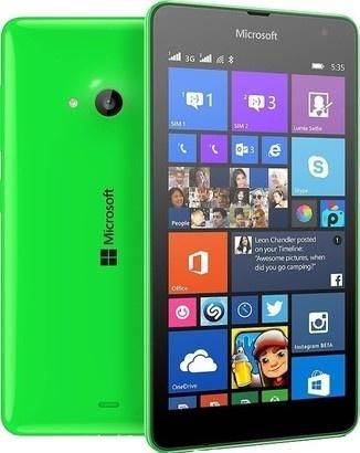 Microsoft Lumia 535 DS Bright Green