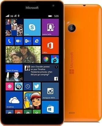 Microsoft Lumia 535 DS Bright Orange