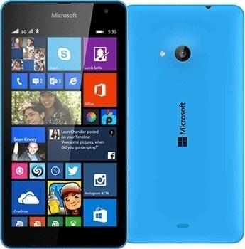 Microsoft Lumia 535 DS Cyan