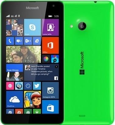 Microsoft Lumia 535 SS Bright Green