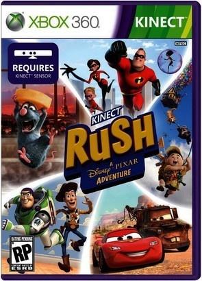Microsoft Pixar Rush XBOX Kinect