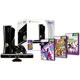 Microsoft XBOX 360 Kinect 250 GB + 3 hry