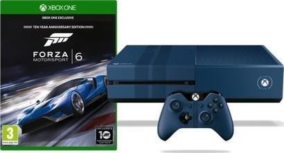 Microsoft Xbox One 1TB modrá + Forza Motorsport 6