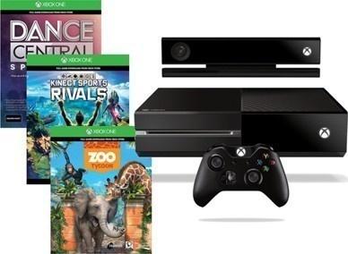 Microsoft XBOX One 500GB Kinect + 3 x hra