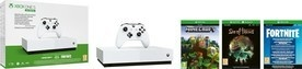 Microsoft XBOX One S 1TB All Digital + 3 hry