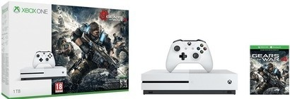 Microsoft XONE S 1TB + Gears of War 4