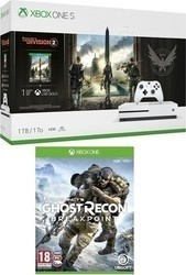 Microsoft XONE S1TB + Division2 + GhostReconBreakpoint