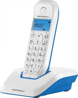 Motorola S 1201 DECT Blue