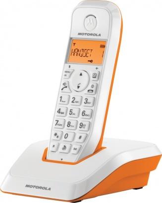 Motorola S 1201 DECT Orange