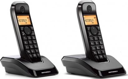 Motorola S 1202 Duo Dect Black