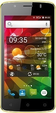 myPhone FUN 4 Dual SIM žlutý
