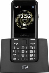 myPhone Halo Q Senior černý se stojánkem