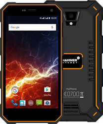myPhone Hammer Energy 4G LTE oranžovo-černý