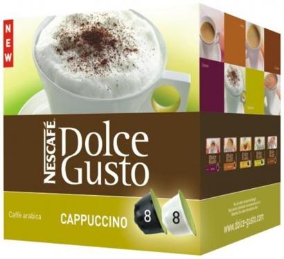 Nescafé Dolce Gusto Cappuccino 8 + 8 ks