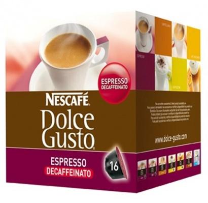 Nescafé Dolce Gusto Espresso Decaffeinato 16 ks