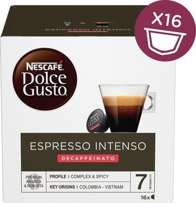 Nescafé Dolce Gusto Espresso Intenso Decaffeinato (new)