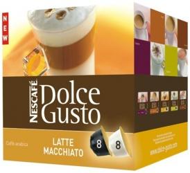 Nescafé Dolce Gusto Latte Macchiato 8 + 8 ks