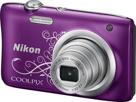 Nikon Coolpix A100 Purple Lineart