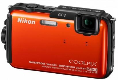 Nikon COOLPIX AW110 Orange