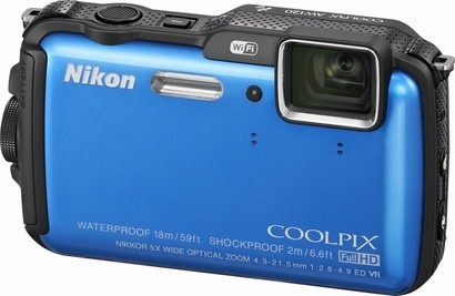 Nikon COOLPIX AW120 Blue