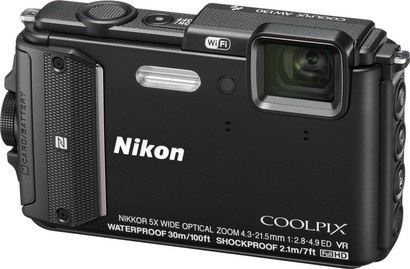 Nikon COOLPIX AW130 Blackoutdoor KIT