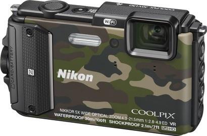 Nikon COOLPIX AW130 Camouflage
