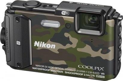 Nikon Coolpix AW130 Camouflage Outdoor