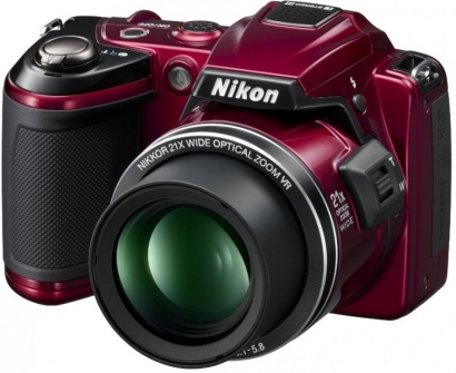 Nikon COOLPIX L120 Red