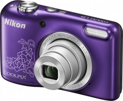 Nikon COOLPIX L29 Purple Lineart