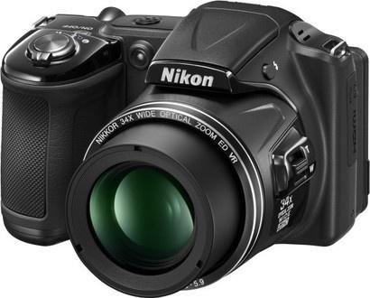 Nikon COOLPIX L830 Black + čtečka karet