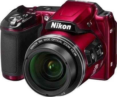 Nikon COOLPIX L840 Red + pouzdro