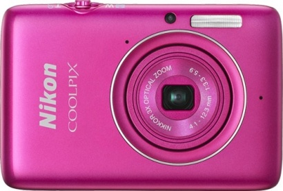 Nikon COOLPIX S02 Pink