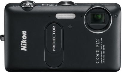 Nikon COOLPIX S1200pj BLACK