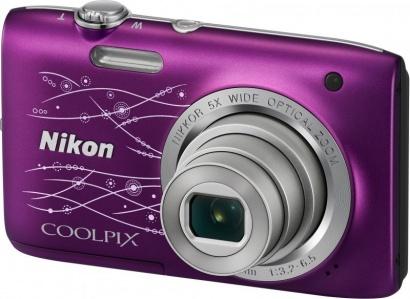 Nikon COOLPIX S2800 Purple Lineart
