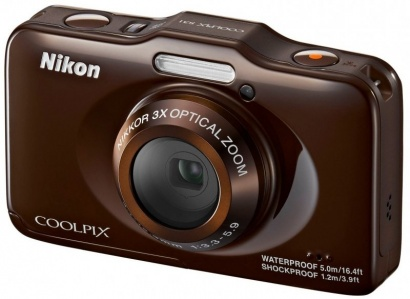 Nikon COOLPIX S31 Bronze