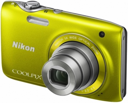 Nikon COOLPIX S3100 YELLOW