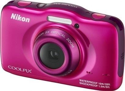 Nikon COOLPIX S32 pink backpack kit
